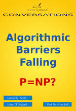 Algorithmic Barriers Falling: P=NP? front cover